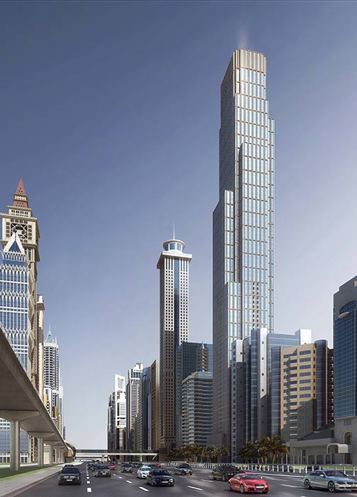 Skyscraper Project - Sheikh Zayed Road