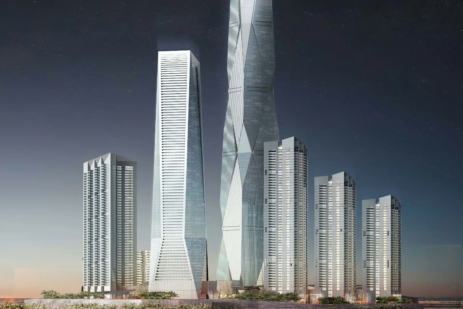 Commercial Tower Project - Uptown Dubai2