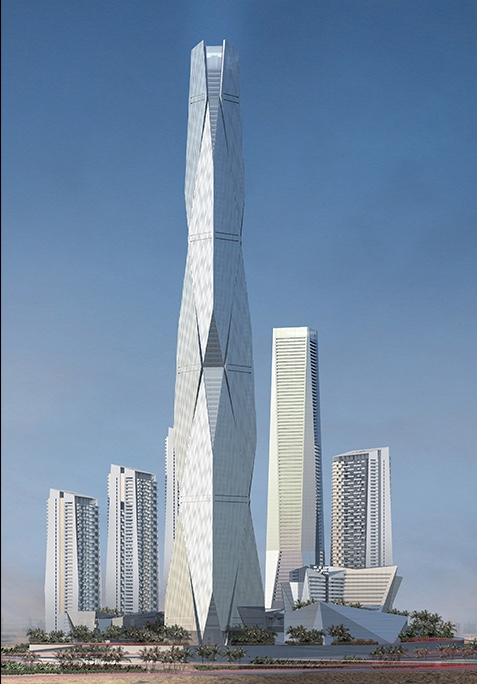 Commercial Tower Project - Uptown Dubai