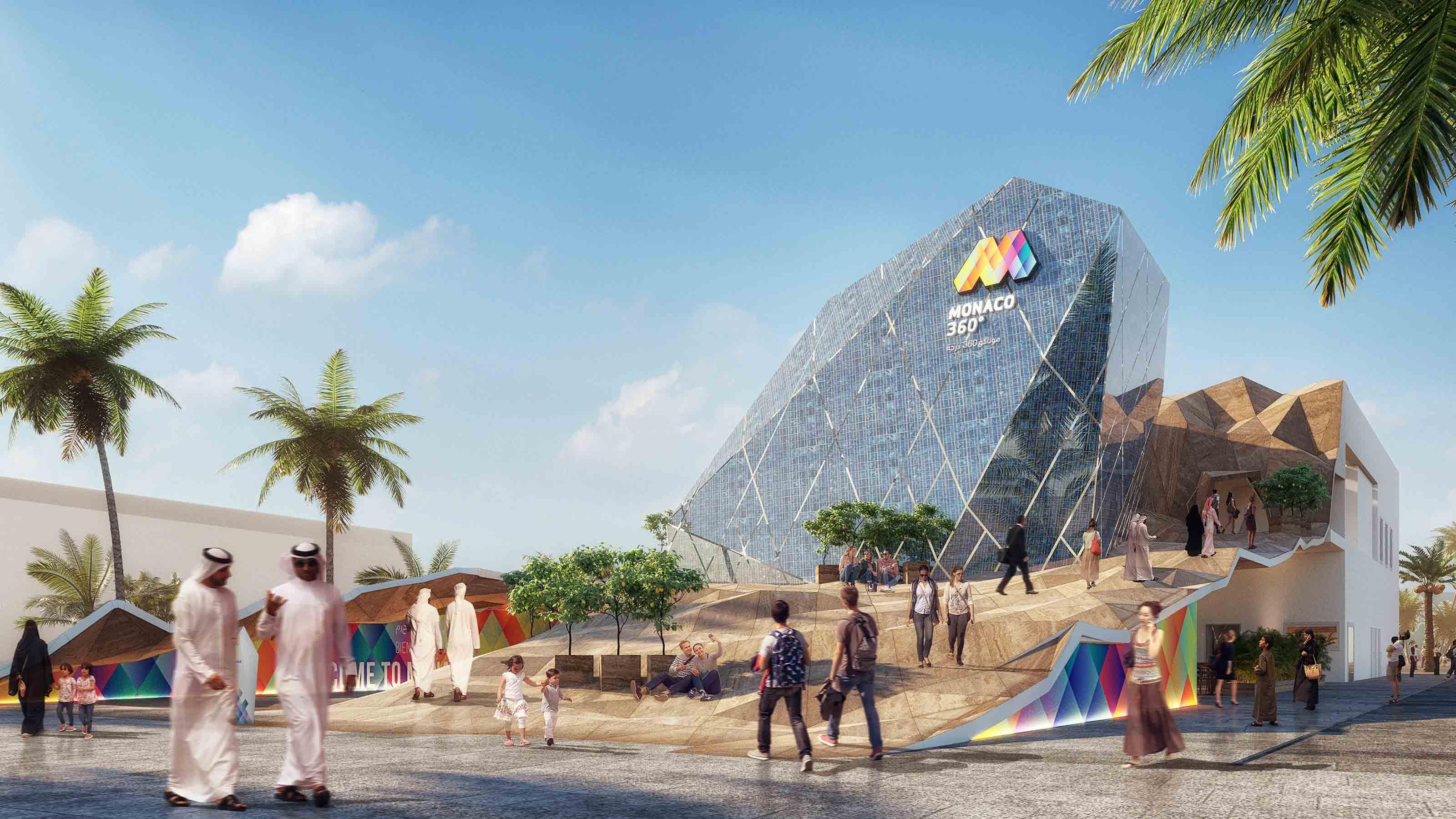 Monaco Pavilion Project - Dubai Expo 2020